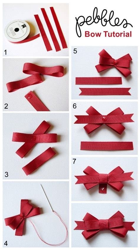 Step By Step On How To Make A Paper Airplane - how to make a bow step by step image guides