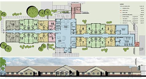 Small Apartments Plans gallery clarence senior living