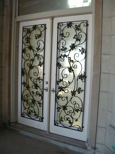 iron doors custom wrought iron design and fabrication