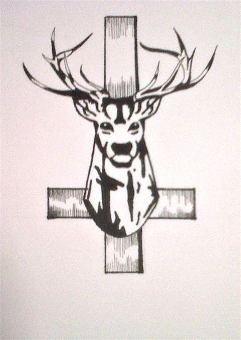 stag head designs stag head tattoo design by politicsofcruelty on deviantart