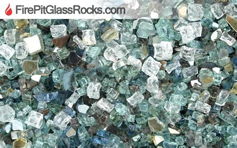 pit glass rocks