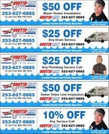 plumbing coupons tacoma plumber seattle plumbing