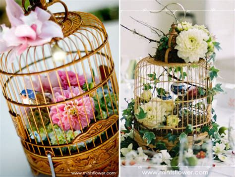 looking for bird cage centerpieces weddingbee