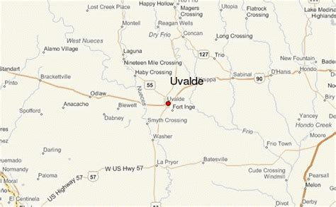 uvalde texas map uvalde location guide