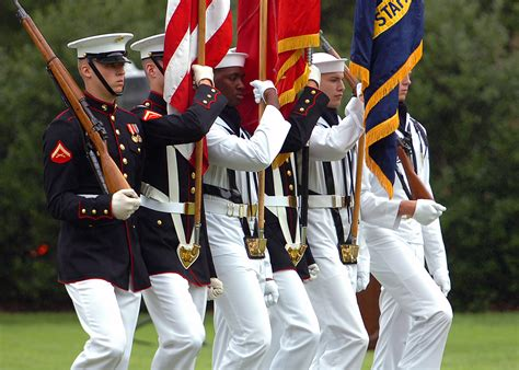 navy color guard army navy marine corps among best places to work