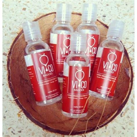 Vico Bagoes Coconut Vco 1000 Ml coconut 50 ml jual makanan diet sehat alami harga murah toko makanan