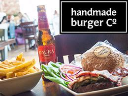 Handmade Burger Company Offers - eat out with confidence at one of our gf accredited venues