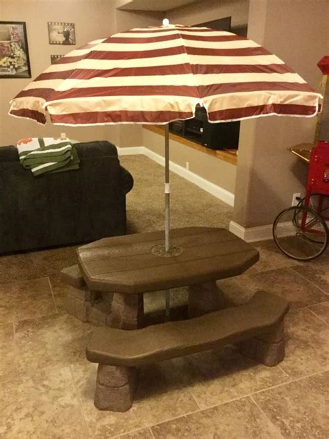 2 picnic table with umbrella 2 picnic table for sale classifieds