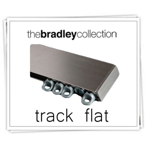 Flat Curtain Track Bradley Collection