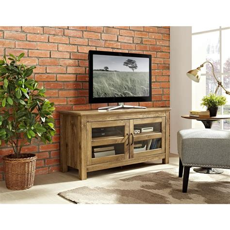walker edison furniture company 44 in wood tv media stand