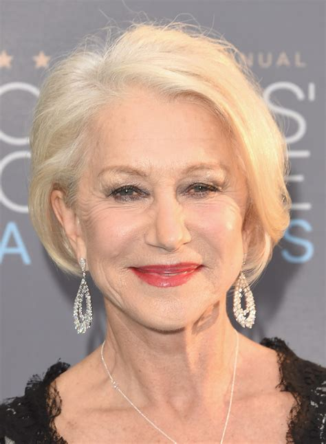 helen mirren hairstyles images helen mirren bob short hairstyle 2013