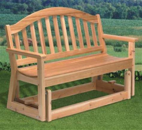 Wood Glider Chair Plans