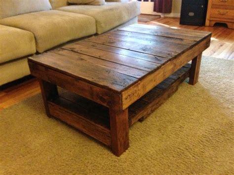 rustic handmade coffee table house rustic reburbished