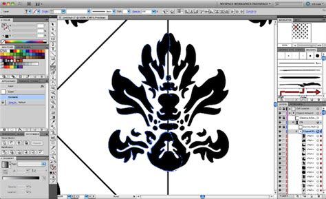 pattern function illustrator quick tip create a damask pattern using the madpattern