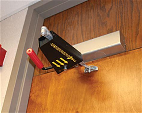 Active Shooter Door Stops by Barracuda Lockdown Device Doors With Closers Active