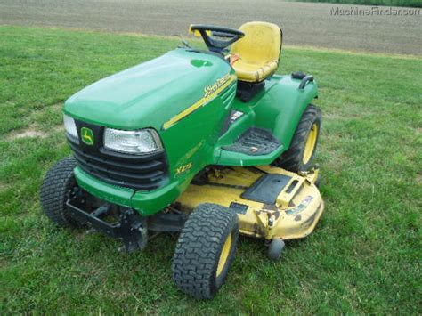 2002 deere x475 lawn garden and commercial mowing