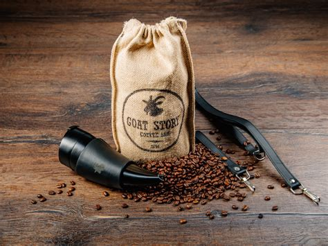 Goat Story Coffee Mug 470 Ml 16oz goat story goat mug 真皮款山羊角咖啡杯 16oz 470ml 富連網 台灣