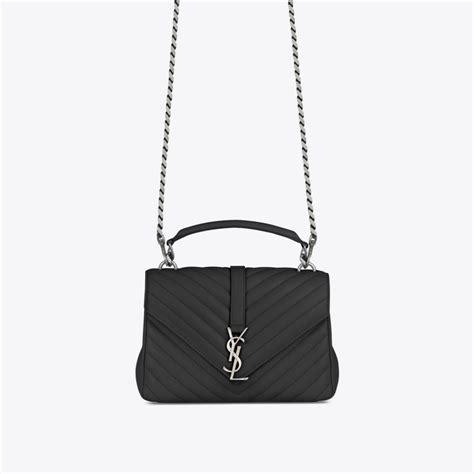 ysl classic large monogram bag black