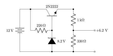 voltage regulator using zener diode and bjt regulating voltage with junk box parts frank mitchell