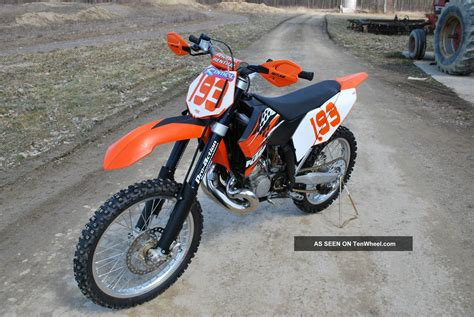 2008 Ktm 200 Xc 2008 Ktm 200 Xc Pictures To Pin On Pinsdaddy