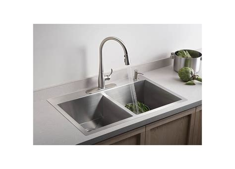 top rated kitchen faucets under 100 sinks and faucets faucet com k 3820 4 na in stainless by kohler
