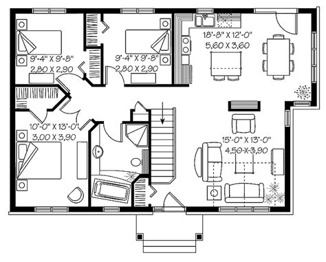 space efficient floor plans efficient floor plans open floor plans 1 story space