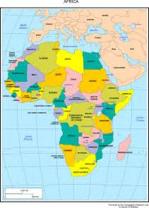 Countries Of Africa Map by Maps Of Africa