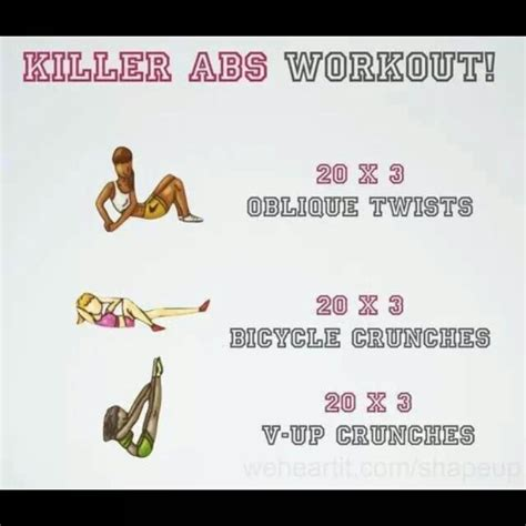 best 25 killer ab workouts ideas on ab challenge workout six pack abs workout and