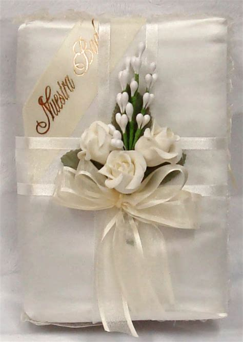 Wedding Bible by Heidicollection Wedding Bible With Embroidered Doves