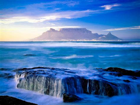 Table Mountain South Africa by Table Mountain South Africa Icon Travel All Together