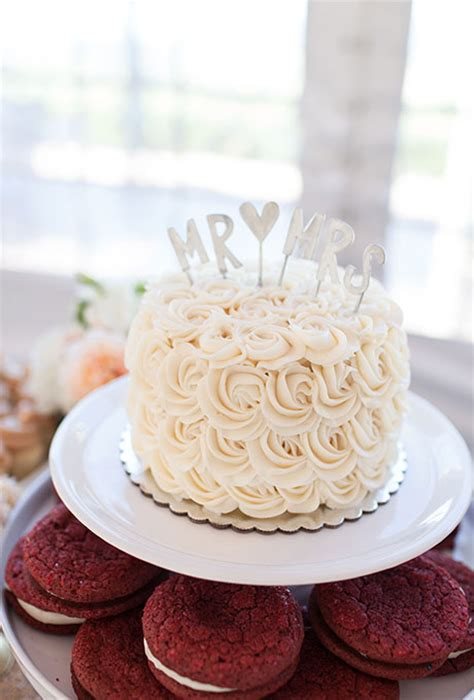 Wedding Cake One Tier by One Tier White Cake With Swirled Details Wedding Cakes