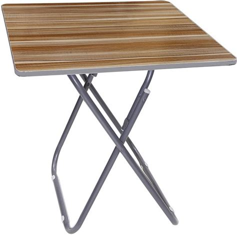 2 square folding table souq wooden square folding table with metallic stand uae