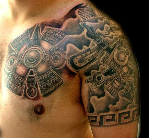 mexican aztec tattoos desperado