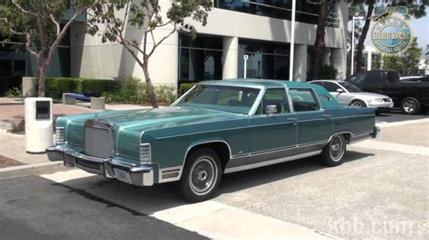 kelley blue book classic cars 2010 lincoln town car parking system kbb review 1979 lincoln continental youtube