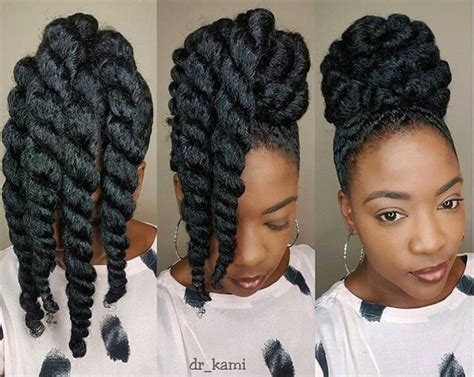 easy to maintain african american hairstyles these chunky twists make protective styling easy peasy