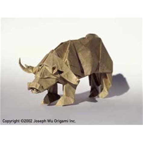 Origami Bison - joseph wu s origami page