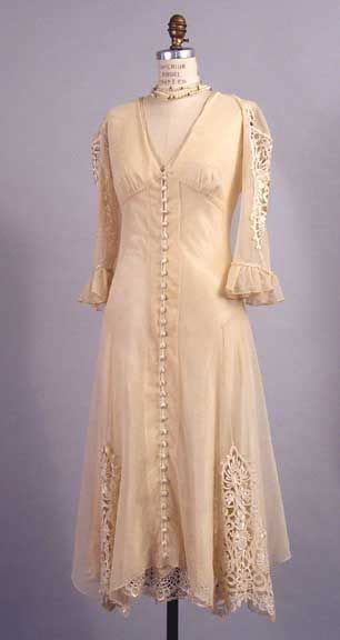 Informal Vintage Style Wedding Dresses by Vintage Style Dresses Informal Wedding Gowns 1920