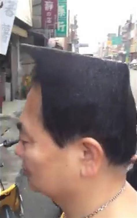 hair stylist peter wu taiwan 54 year old asian blockhead needs to act his age