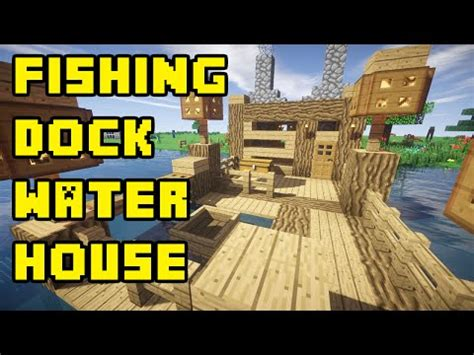 minecraft automatic boat dock how to make a boat dock in survival craft mi je