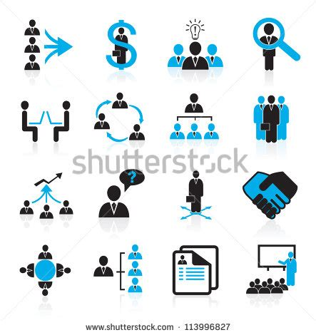 Set Of Business Icons Human Resource Finance Royalty Free Stock Photos Image 33611768 Human Resources Icon Stock Images Royalty Free Images Vectors