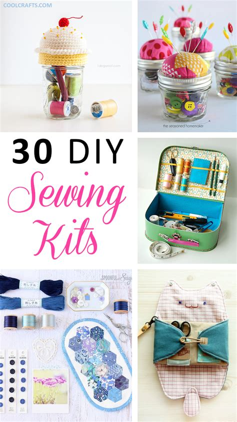 diy decorations sewing sewing kits 30 ideas every sewing hobbyist will cool crafts