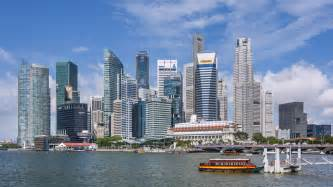 Singapore?s Business District, which houses many of the private
