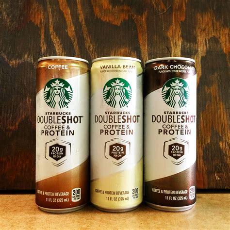 Protein Coffee starbucks doubleshot with protein 11oz coffee vanilla