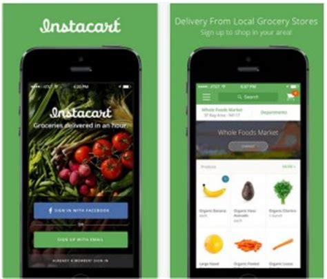Whole Foodsinstacart Detox by Instacart Inks Deal With Whole Foods For In Store Up