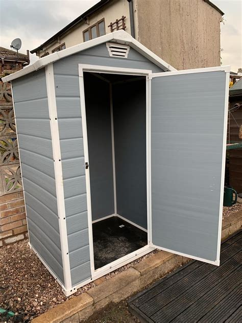 keter  plastic shed  wn wigan    sale