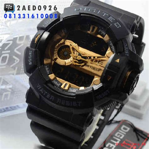 Jam Digitec Dg2080 Black digitec dg 2080t jam tangan dual time murah wr10bar