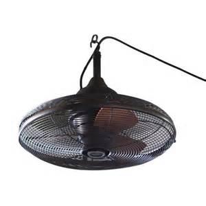 lowes indoor outdoor ceiling fans shop allen roth valdosta 20 in rubbed bronze