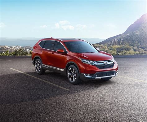 Honda Has Revealed A Cr V As A 2017 Model Year Suv
