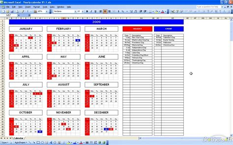 Excel Calendar Templates Free by Free Excel Calendar Template Excel Calendar