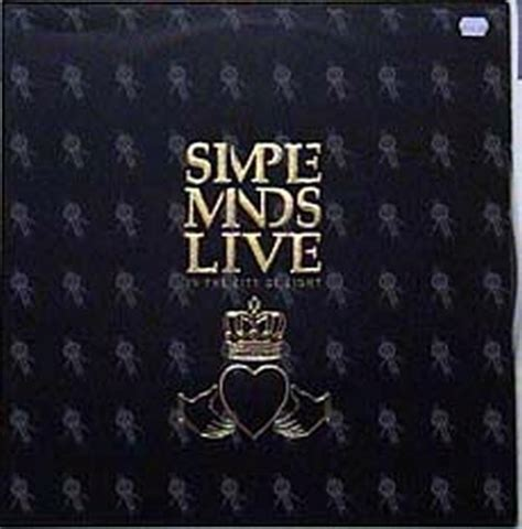 Simple Minds Live In The City Of Light by Simple Minds Live In The City Of Light 12 Inch Lp